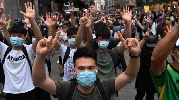 有外媒记者表示,香港《国安法》通过后,更难寻找受访者采访。