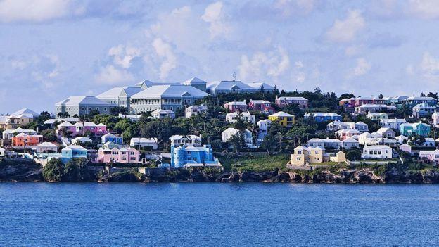 Villas en Bermuda.