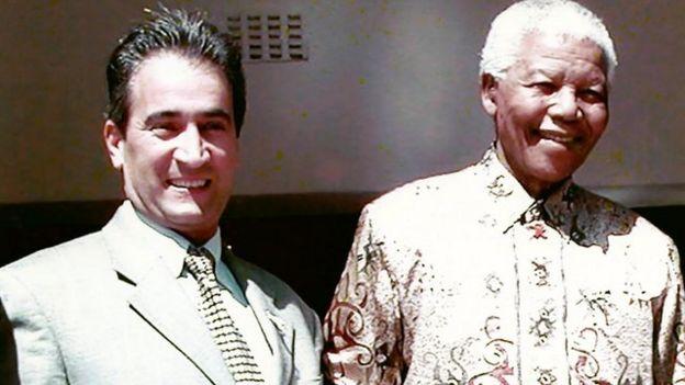 ایرج عابدیان از مشاوران اقتصادی در دولت نلسون ماندلا بود