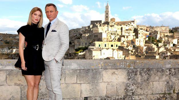 Daniel Craig ve Lea Seydoux