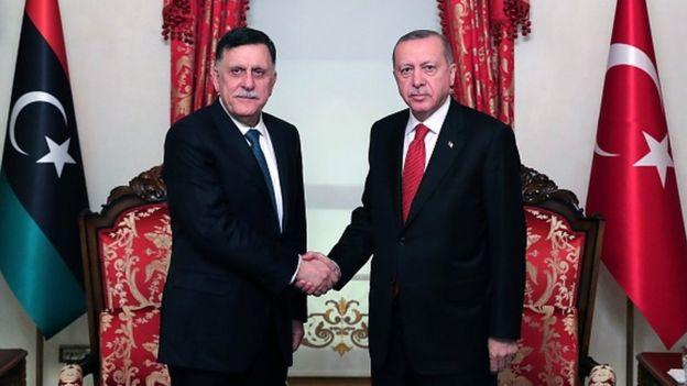 Erdoğan ve Sarraj, Türkiye'de sık sık bir araya geliyor.