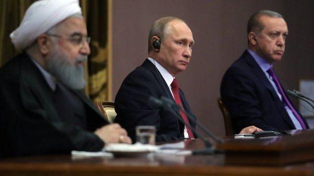 ایران، روسیه و ترکیه از زمان آغاز مذاکرات آستانه همکاری نزدیکی در خصوص سوریه داشتند