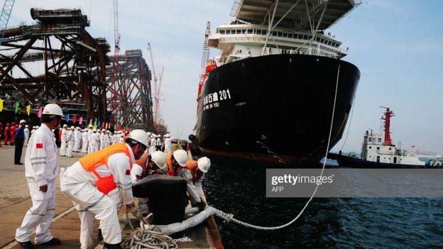 Một tàu chở dầu của Trung Quốc