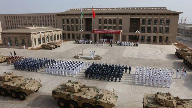 中國去年在吉布提啟用首個在外國的軍事基地。
