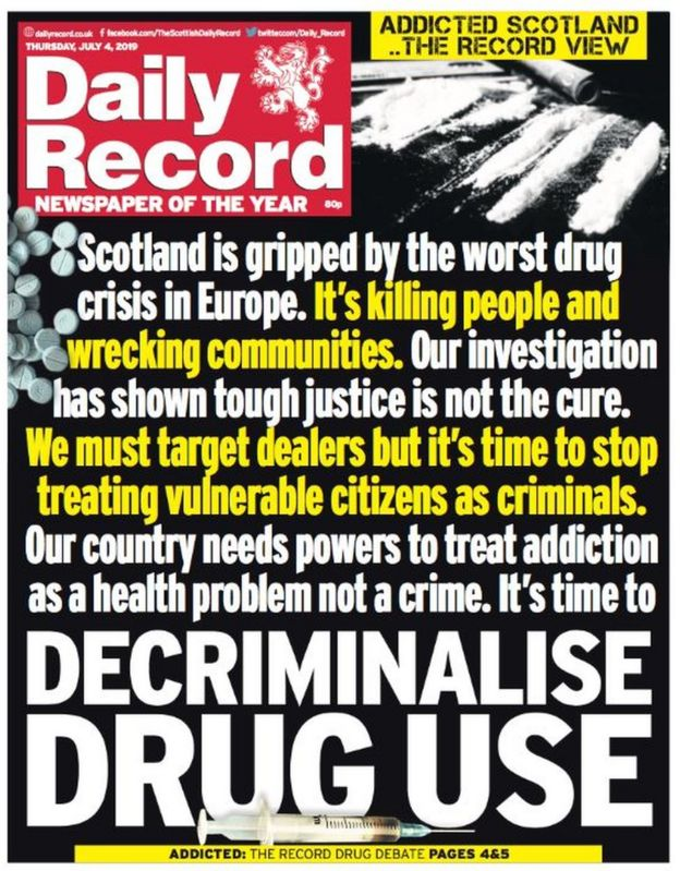 What can be done about Scotland's drugs crisis? - BBC News