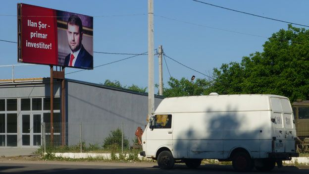 A Shor election campaign poster in Orhei