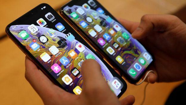 Teléfonos Apple