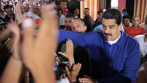 Constituyente un paso a la dictadura; Embajadora de EEUU