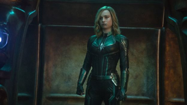 Captain Marvel: The need-to-know on MCU's latest hero - BBC News