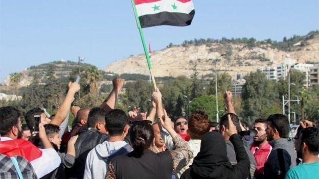 阿薩德總統的支持者