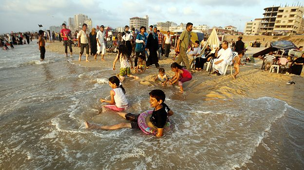 Beach in Gaza