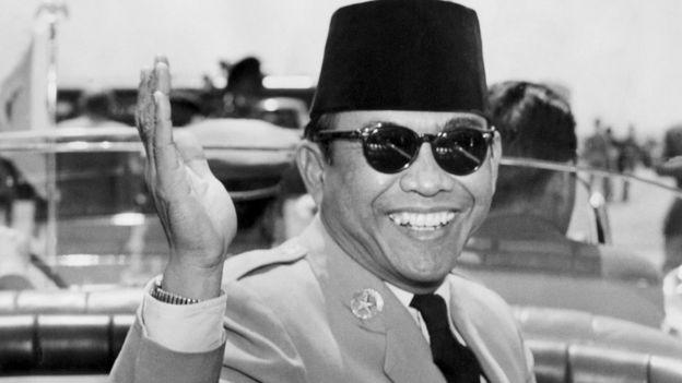 Indonesian founding president Sukarno