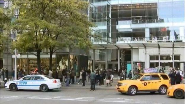 Tòa nhà Time Warner ở thành phố New York đã được sơ tán vào sáng thứ Tư