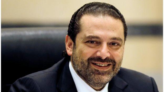 رئيس الوزراء اللبناني المستقيل سعد الدين الحريري