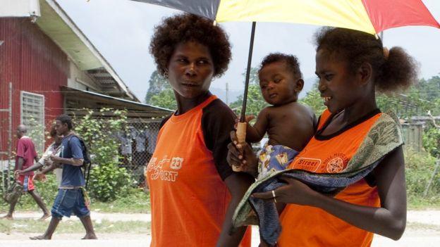 Ciudadanos de Bougainville