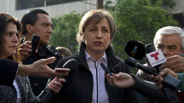 La periodista Carmen Aristegui ha sido víctima de ciber espionaje.