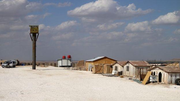 Пустые строения в пустыне