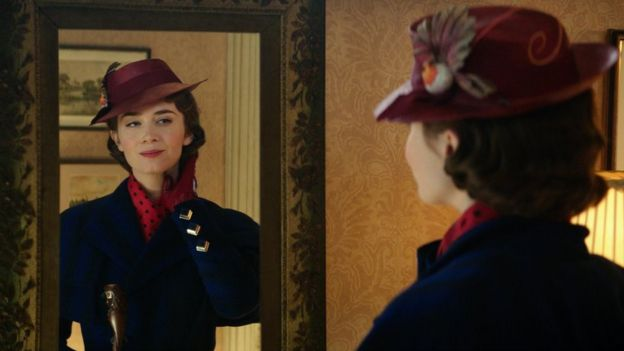 Emily Blunt in Mary Poppins Returns