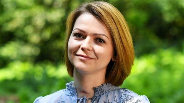 謝爾蓋·斯克里帕爾的女兒尤利婭