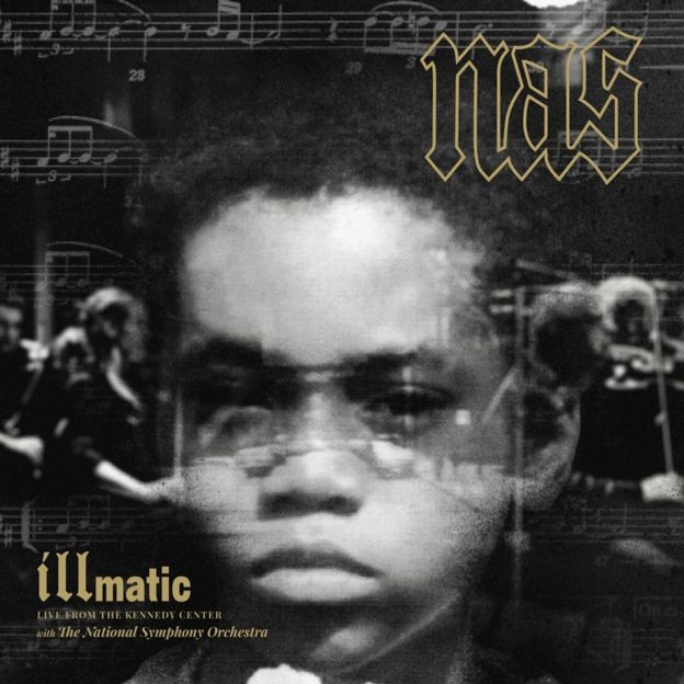 Artwork for Nas: Illmatic at the Kennedy Center Record Store Day release 2018