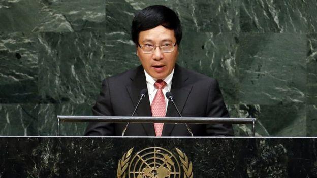 Ngoại trưởng Việt Nam Phạm Bình Minh