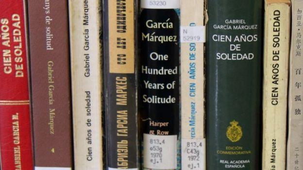 Libros de 100 a;os de soledad
