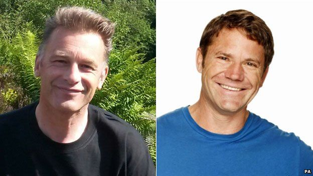 Chris Packham (left) and Steve Backshall