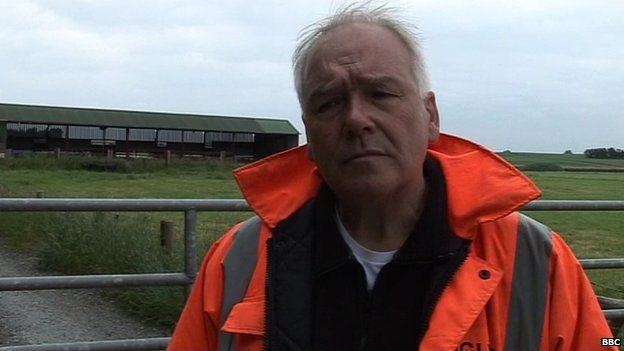 Senior investigator Jon Hill