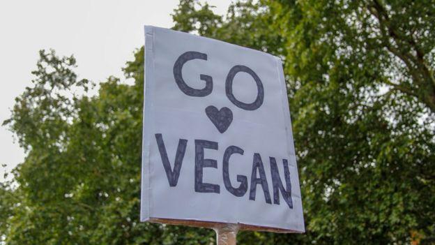 Постер Go Vegan