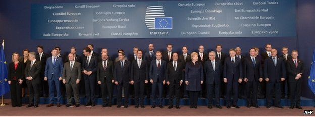 EU leaders pose for group photo