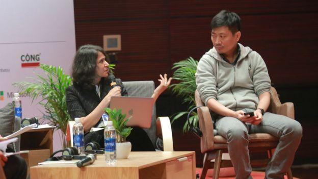 Ông Arthit Suriyawongkul, một nhà hoạt động xã hội dân sự ở Thái Lan cũng là một diễn giả tại VIF