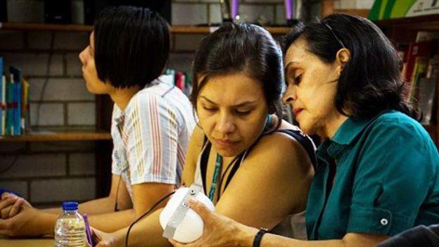 Mujeres que participan en la red de Makaia
