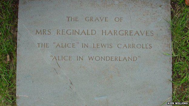 Alice Liddell grave