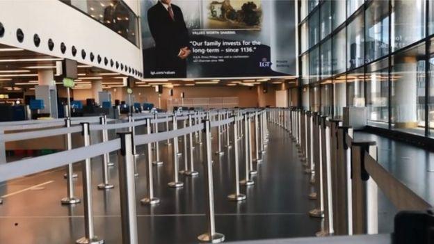 مطار أوروبي