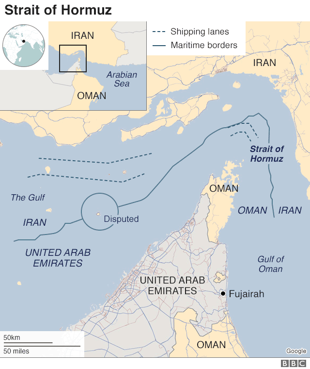 Four ships 'sabotaged' in the Gulf of Oman amid tensions