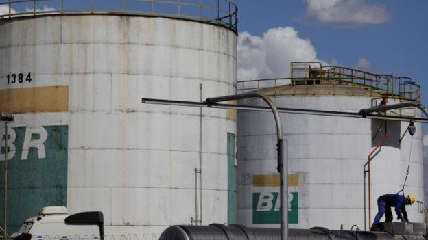 Tanque da Petrobras