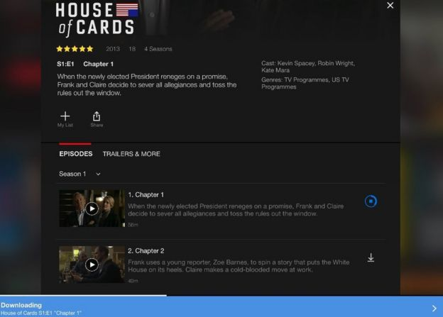 Netflix to allow TV and movie downloads - BBC News