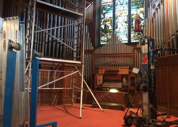 Wonderful' church organ sent to Germany - BBC News
