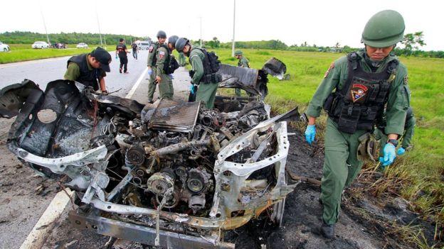 เหตุไม่สงบที่อำเภอสายบุรี จังหวัดปัตตานี เมื่อเดือนสิงหาคม 2017