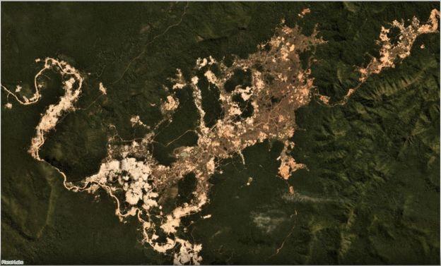 Mineração em terra indígena