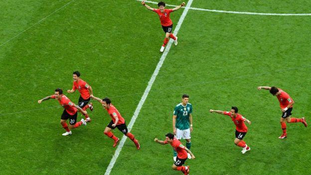 Corea del Sur consiguió la victoria frente a una Alemania que perdió dos de los tres partidos que jugó en Rusia.