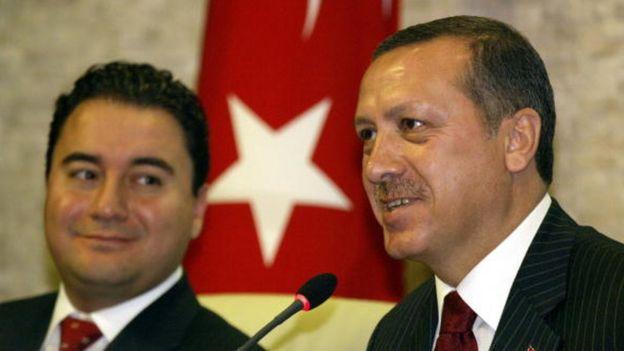 Ali Babacan ve Cuımhurbaşkanı Erdoğan