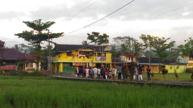 Suasana Desa Bungkanel