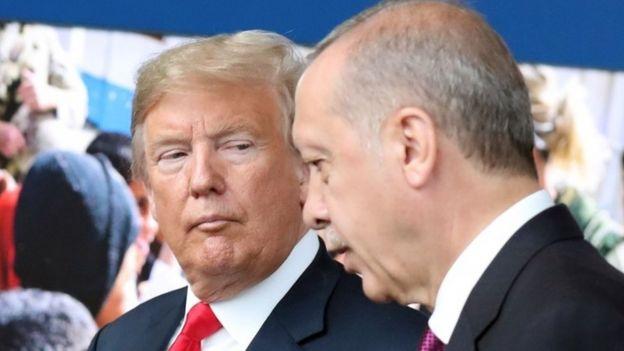 美國與土耳其近年的關係漸趨緊張。
