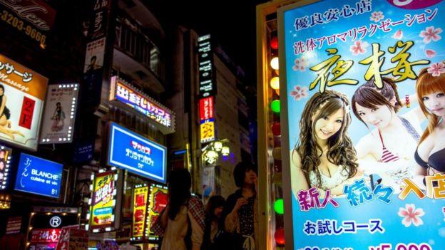 Kabukich en Japón.