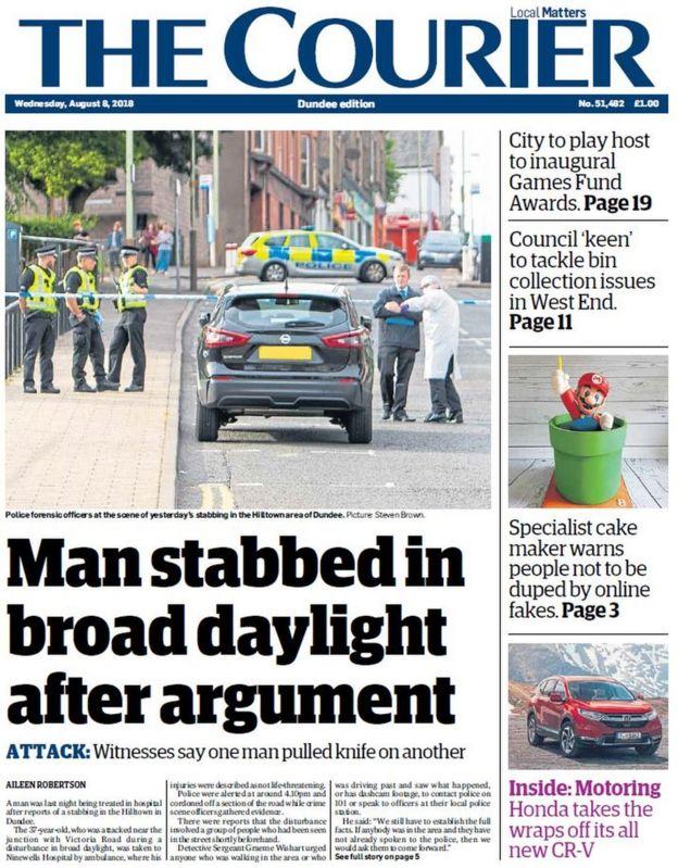 Scotland's papers: 'Sturgeon hedges on Indyref2' - BBC News