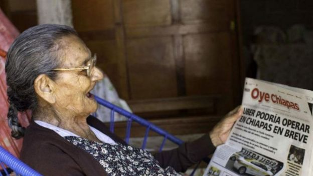 Une mexicaine de 96 ans rentre au lycée