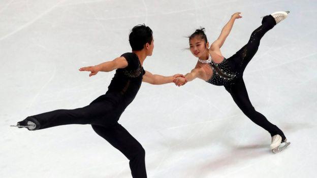 Ryom Tae-Ok y Kim Ju-Sik