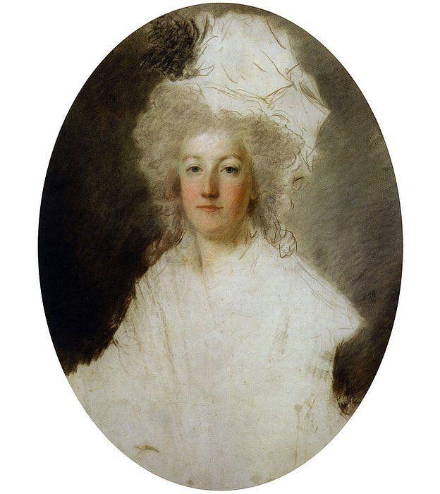 Retrato de la reina sin terminar