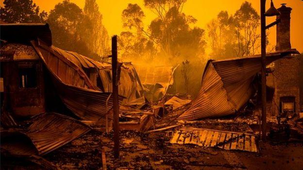 Australia bush fire 2019